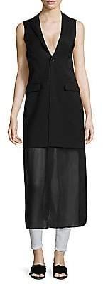 Each X Other Women's Hybrid Blazer Vest Dress