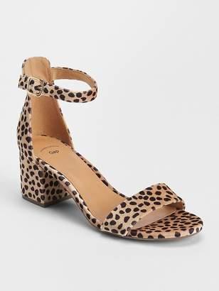 Gap Block Heel Sandals