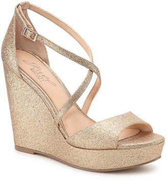 Badgley Mischka Averie Wedge Sandal - Women's