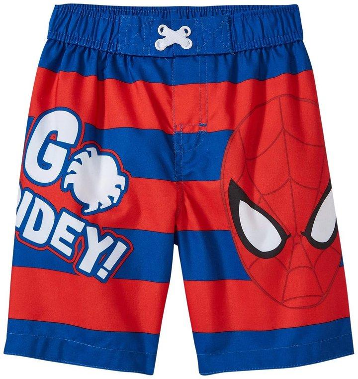 Marvel Spiderman Trunk (Toddler/Kid) - Red - 4T
