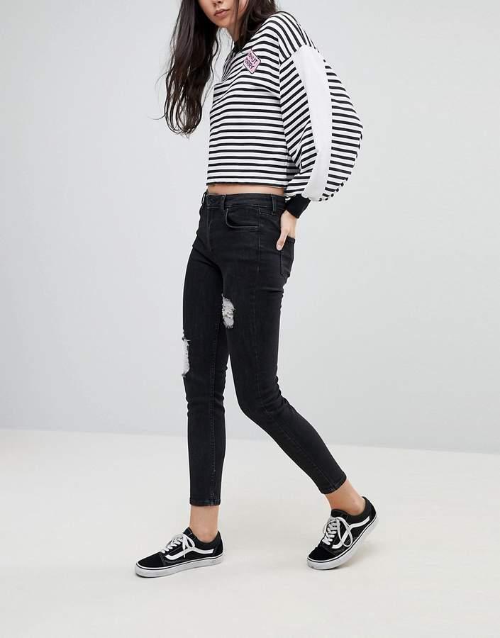 Kubban – Enge Jeans im Used-Look