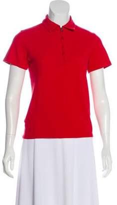 Prada Sport Short Sleeve Knit Top