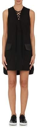Robert Rodriguez WOMEN'S LACE-UP SHIFT DRESS