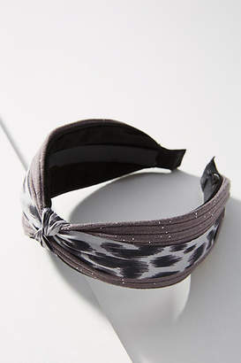 Anthropologie Animal-Printed Knotted Headband