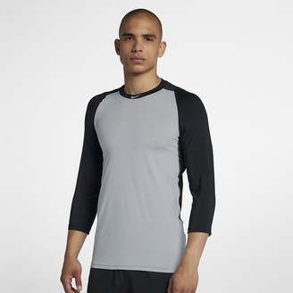 Nike Pro Men's 3/4 Sleeve Baseball Top