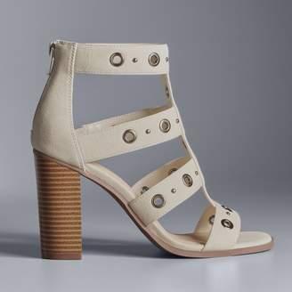 Vera Wang Simply Vera Amsterdam Women's High Heel Sandals