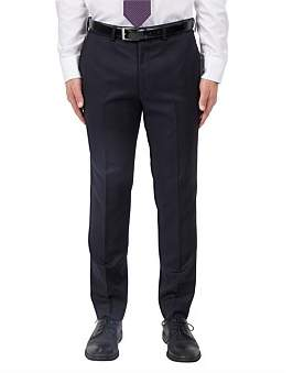 Studio Italia Flat Front Wool Window Pane Suit Trouser