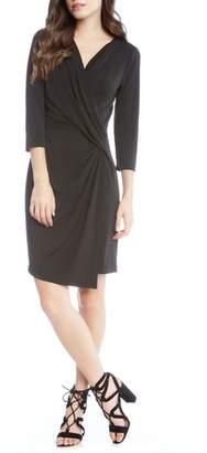Karen Kane Faux Wrap Dress