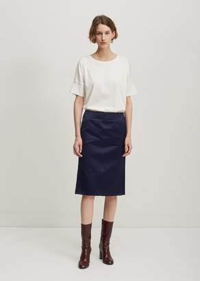 Lemaire Straight Skirt Chinese Blue