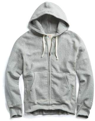 Todd Snyder + Champion Champion Full Zip Hoodie in Light Grey Mix