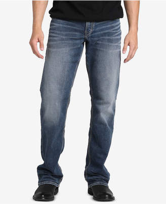 Silver Jeans Co. Men Zac Straight Leg, Relaxed-Fit Stretch Jeans