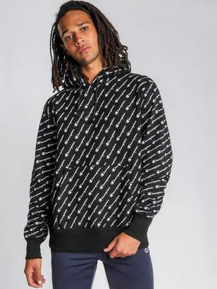Champion Reverse Weave Pullover Hoodie in Black