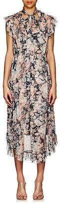 Zimmermann Women's Floral Silk Chiffon Dress