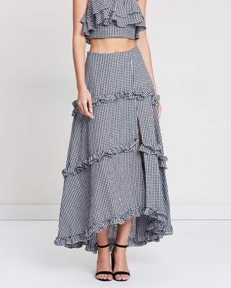 Willow Scrunch Maxi Skirt