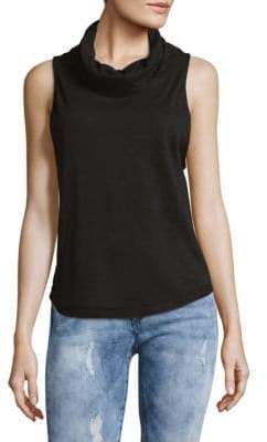 Free People Sleeveless Cowl Neck Top