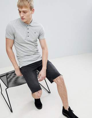 Diesel T-HEAL Polo Gray