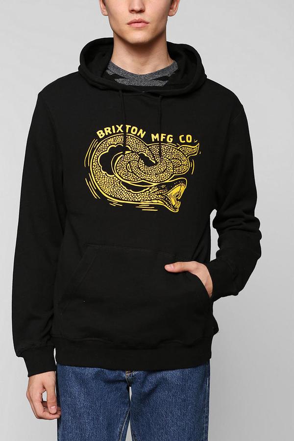 Brixton Snake Hoodie Sweatshirt