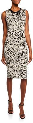 Rachel Roy Leo Leopard Pattern Sweater Dress