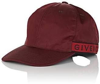 Givenchy Men's Logo Baseball Cap - Wine