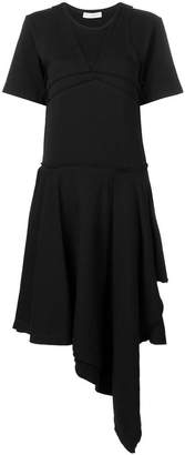 J.W.Anderson asymmetric hem flared dress