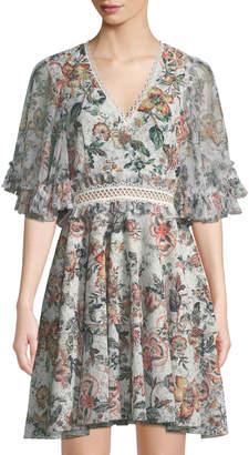 Sachin + Babi Belle Floral-Print Dress