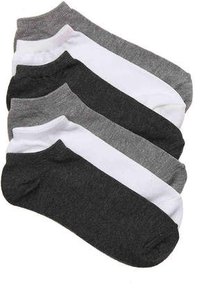 Mix No. 6 Basic No Show Socks - 6 Pack - Women's