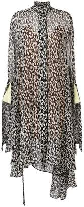 Petar Petrov leopard print shirt dress