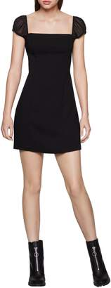 BCBGeneration Cap-Sleeve Little Black Dress
