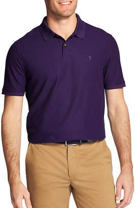 Izod Easy Care Short Sleeve Knit Polo Shirt