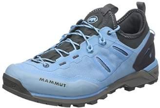 Mammut Women's Alnasca Knit Low Rise Hiking Boots, Blue (Whisper/Graphite 000)