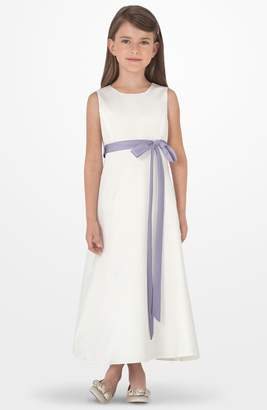 Us Angels Sleeveless Satin Dress