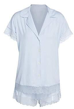 Eberjey Women's Malou Short Sleeve PJ Set