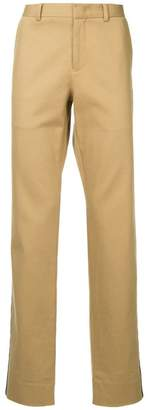 CK Calvin Klein high rise tailored trousers