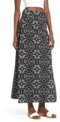 Women's Lira Clothing Cara Slit Maxi Skirt $40 thestylecure.com