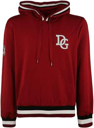 Dolce & Gabbana Embroidered Hoodie