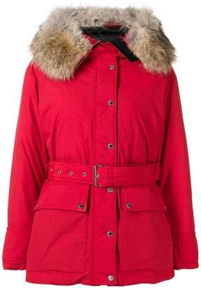 Belstaff belted padded jacket