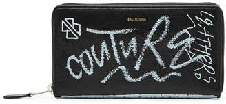 Balenciaga Bazar Continental Leather Wallet