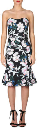 Cooper St Whimsical Blooms Strapless Midi Dress
