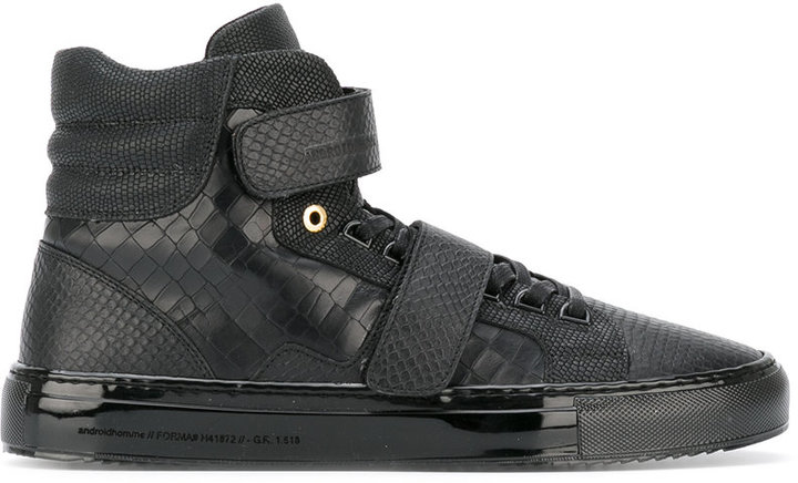 AndroidAndroid Homme strap over panelled sneakers