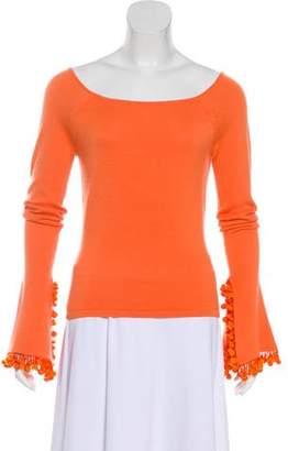 Naeem Khan Cashmere Knit Top