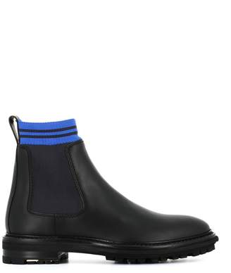 Lanvin Chelsea Boots With Sock