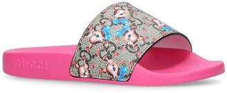 Gucci Fawn Pursuit Slides