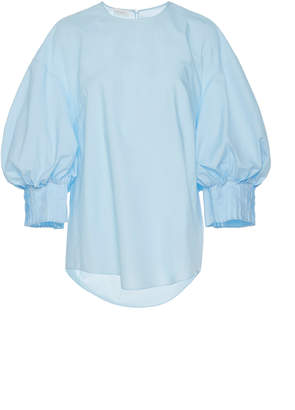 DELPOZO Pin Tuck Cuff Shirt