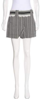 A.L.C. High-Rise Patterned Shorts