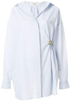 Damir Doma striped gathered shirt
