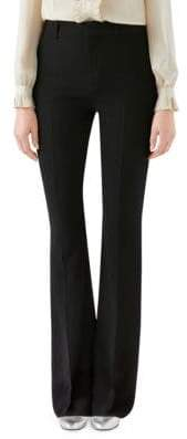 Gucci Stretch Cady Flare Pants