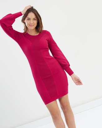 Karen Millen Bell Sleeve Knit Dress