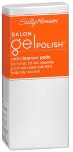 Sally Hansen Salon Gel Polish Nail Cleanser Pads, Gel Cleanser