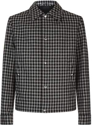 Ami Paris Check Blouson Jacket