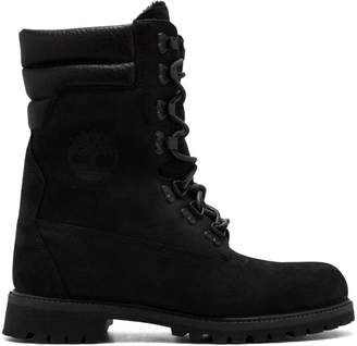 Timberland Kith Super Shearling BLK boots